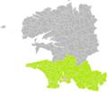 Clohars-Fouesnant (Finistère) dans son Arrondissement.png
