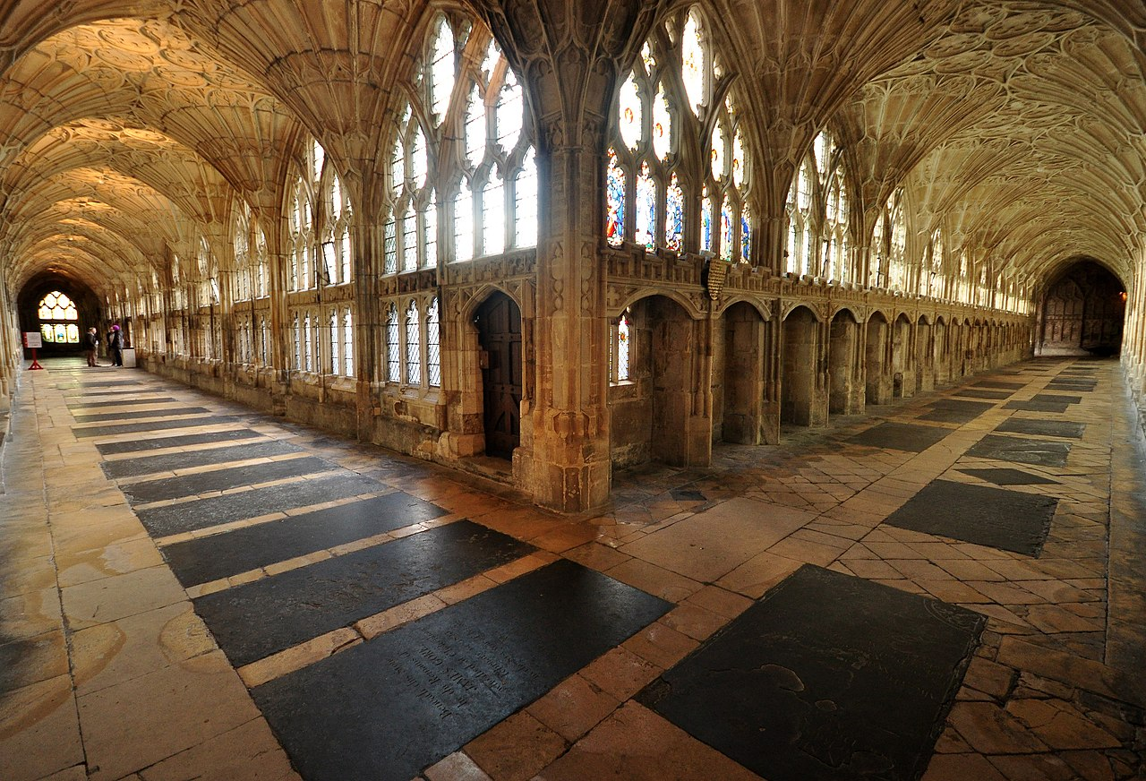 File Cloister Gloucester Cathedral 1 Jpg Wikimedia Commons