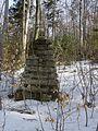 Cmentarz wojskowy z I wojny światowej na wzgórzu Pustki (Łużna) 4.JPG