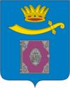 Coat of arms of krasnoyarsky rayon astrakhan oblast