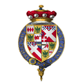 Coat of Arms of Sir John Nevill, 1st Baron Montagu, KG.png
