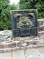 Coat of Arms on Spur Wall Chester.JPG