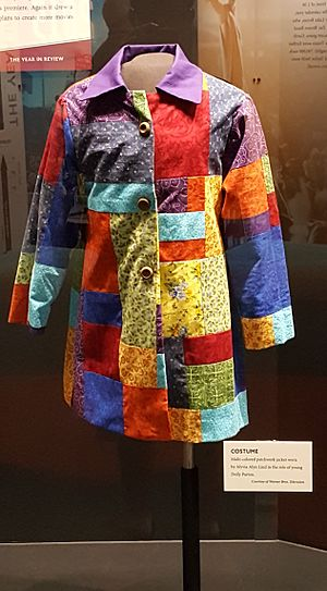 Dolly Parton's Coat of Many Colors - The coat used in the movie that is displayed in the Country Music Hall of Fame and Museum in Nashville, Tennessee.