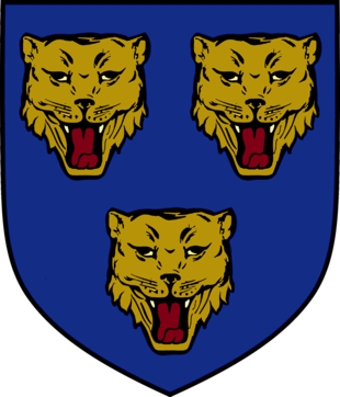 Shrewsbury is first mentioned as a city. Coat of arms of Shrewsbury.png