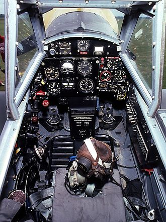 Hispano Aviación HA-1112 - Cockpit HA 1112-M1L Buchon