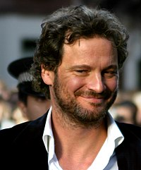 Firth at the Nanny McPhee London premiere in October 2005
