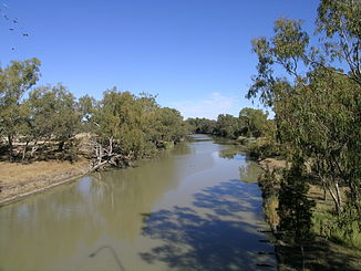 Barwon River in Collarenebri