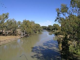 Barwon River (New South Wales) - Barwon River at Collarenebri.