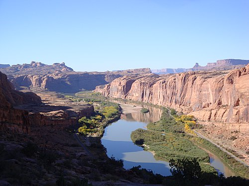 Colorado River from Moab Rim (26837176242)