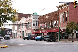Columbia City, Indiana - Downtown Columbia City
