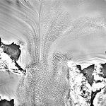 Columbia Glacier, Valley Glacier Convergence, March 12, 1989 (GLACIERS 1440).jpg