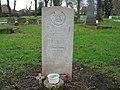 Commonwealth War Grave in Jarrow Cemetery (WW2-16) - geograph.org.uk - 1604842.jpg