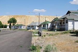 Ruth, Nevada - Street Scene in Ruth, Nevada