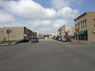 Concordia, Kansas - Image: Concordia, Kansas Main Street