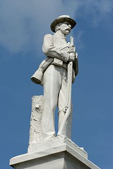 List Of Confederate Monuments And Memorials Wikipedia