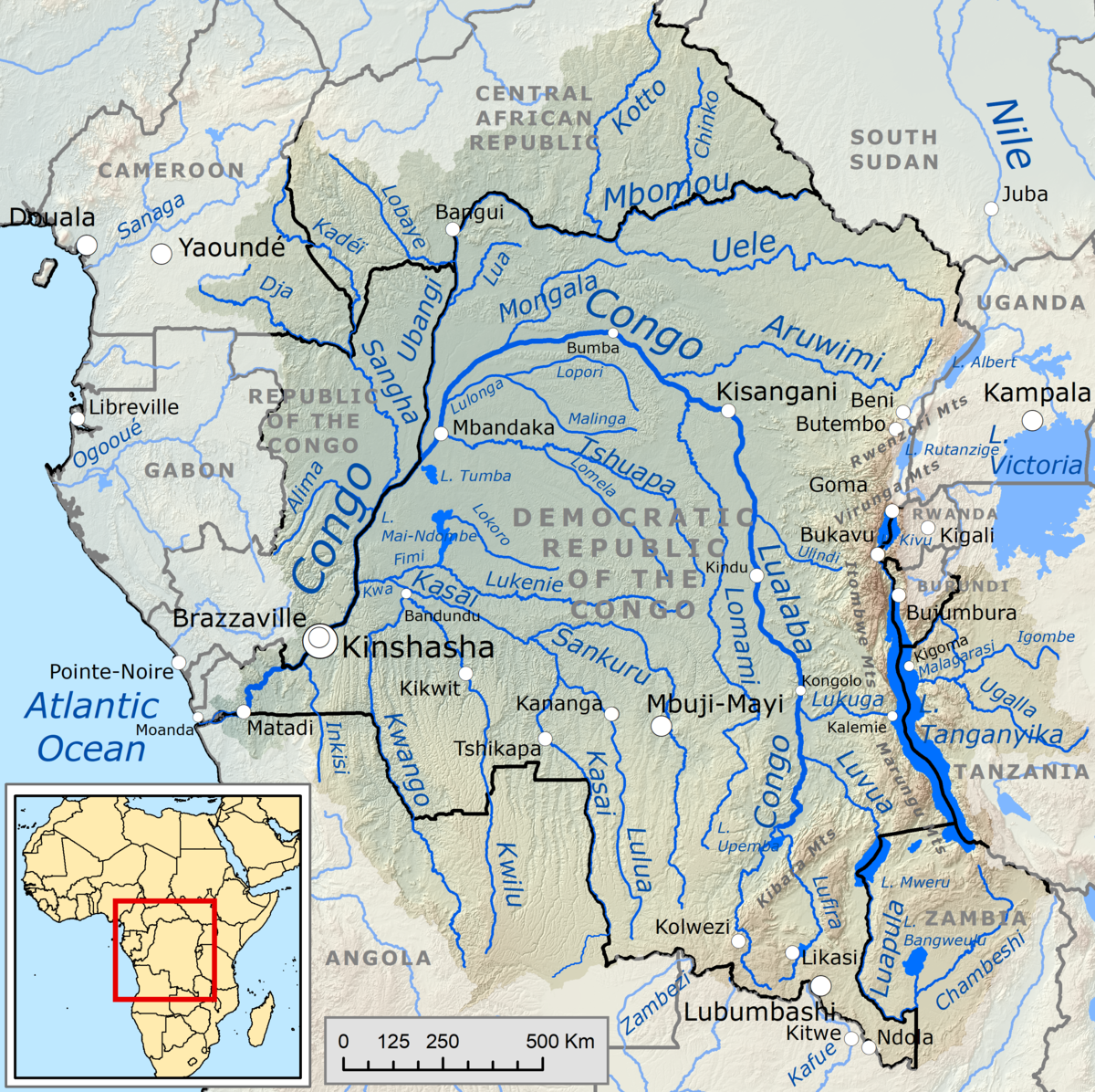 Congo Basin Ecoregions | Global Forest Atlas |Congo Basin