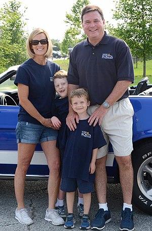 Todd Rokita - Congressman Rokita with his wife Kathy and their two children