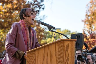 Rosa DeLauro - DeLauro speaking in 2016