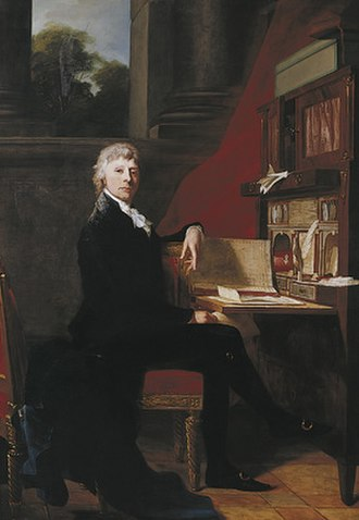 Constantin Brun - Constantin Brun, portray by Jean-Laurent Mosnier (1808)