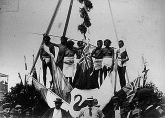 Coolgardie, Western Australia - Image: Coolgardie Aboriginals