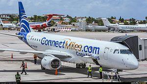 Aviation photography - Copa Airlines - Embraer 190 at Princess Juliana Airport (SXM)