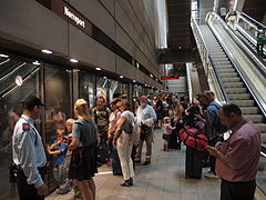 Copenhagen Central railway station metro station fully crowded.jpg