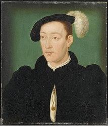 Corneille de Lyon: François III de Bretagne