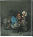 Cornelis Bega Wirtshausszene mit junger Frau und Trinkenden Bauern.png