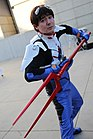 Cosplayer of Shinji Ikari at Anime Expo 20160701.jpg