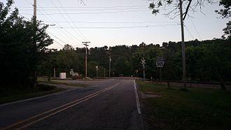 Arkansas Highway 345 - Highway 345 in Cotter