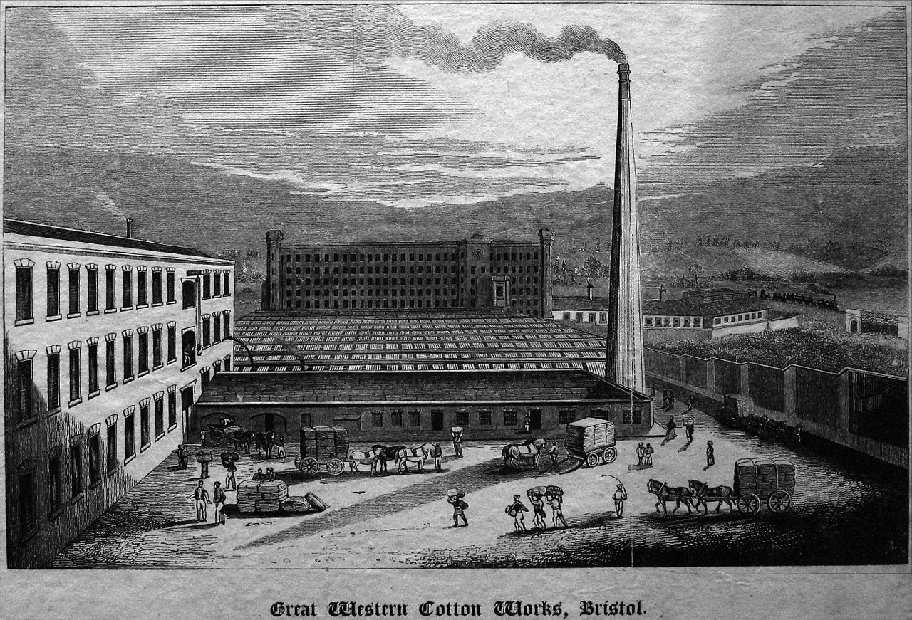 Barton Hill Cotton Mill, Bristol.