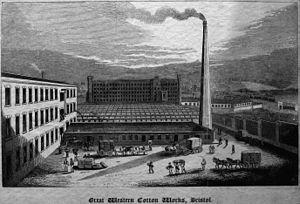 Barton Hill, Bristol - Barton Hill Cotton Mill