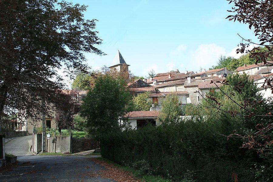 Courniou (Hérault) - vue.