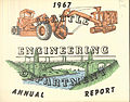 Cover of Seattle Engineering Department annual report, 1967.jpg