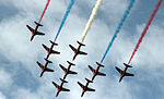 Cowes Week 2013 Red Arrows display.jpg