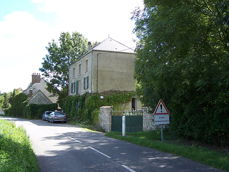 The Mill of La Bonde, previous house of Georges Brassens in Crespières (Yvelines, France).