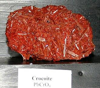 Crocoite - Image: Crocoite 09