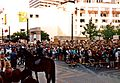 Crowd at Westlake Center Seattle, 1992 Clinton campaign rally.jpg