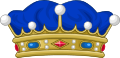 Crown of a Viscount of France.svg
