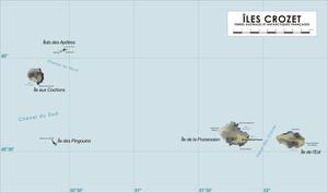 מפת איי קרוזה