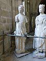 Crypte de la cathédrale Saint-Étienne de Bourges-Statues gothiques (10).jpg