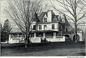 Cyrus H. K. Curtis - Image: Curtis residence