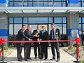 Cutting the ribbon at Chemetall's new facility (8226224765).jpg
