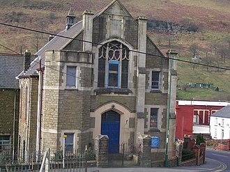 Cwm, Blaenau Gwent - Cwm Methodist church, Mill Terrace, built 1895