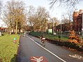 Cycleway in Whitworth Park - geograph.org.uk - 1128572.jpg