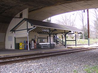Cynwyd Line - Cynwyd has been the terminus of the line since 1986