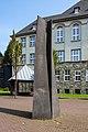 """Dülmen, Skulptur """"Partnerschaft"""" (Charleville-Mézières-Platz) -- 2011 -- 1870.jpg"""