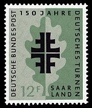 Briefmarken Jahrgang 1958 Der Deutschen Bundespost Saarland Wikiwand