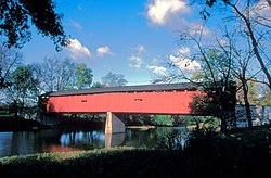 Dellville Covered Bridge