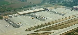 Leipzig/Halle Airport - Cargo facilities